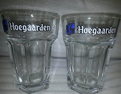 HUGE Hoegaarden Beer Glasses 500ml