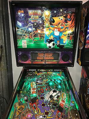 World Cup Soccer 94 Pinball Machine Leds Added New Goalie And Ball