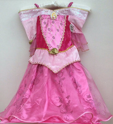 Pink Sleeping Beauty Disney Costume Princess Aurora complete Outfit age 2/3 year