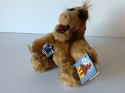 """Vintage ALF 7"""" Plush Window Clinger w/ Suction Cups Applause"""