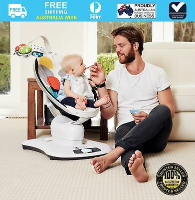 NEW 4moms Mamaroo Bouncer Rocker Multi Colour Plush #`2000132