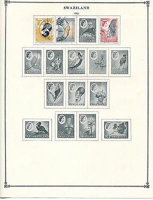 Swaziland Stamp Collection - 1960s