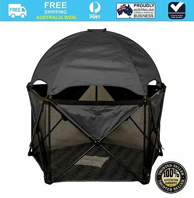 Childcare UV-Lite Travel Play Den Baby Playpen (Includes Carry Bag)