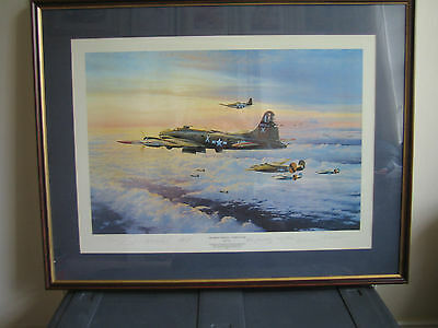 robert taylor signed prints,THE MIGHTY EIGHTH COMING HOME,