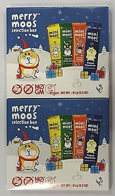 908347 2 x 91g MERRY MOOS SELECTION BOXES - DAIRY FREE CHOCOLATE!! - GBR