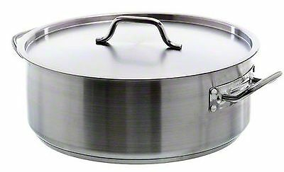 Update International (SBR-20) 20 Qt Stainless Steel Brazier w/Cover