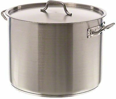 Update International (SPS-40) 40 Qt Induction Ready Stainless Steel Stock Pot...