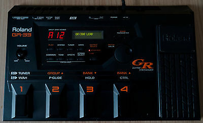 Roland GR-33 guitar Synthesizer multi-effects processor GK midi GR33 Japan made