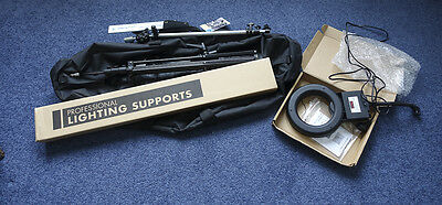 Lighting Stand Package inc Manfrotto 1052BAC Most items NEW never used