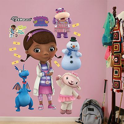 FATHEAD Doc McStuffins Collection Graphic Wall Dcor