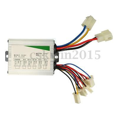 500W Brush Motor Speed Controller For Electric Scooter Bicycle E-bike DC 48V