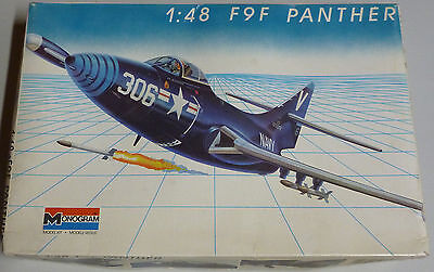 Monogram Aircraft Model 1/48-F9F Panther Fighter