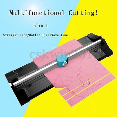 A4 A3 Multifunction Precision Photo Rotary Paper Cutter Cutting Ruler Trimmer