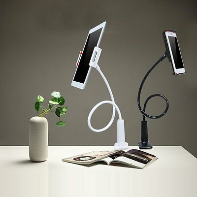 """4-7"""" Table Desk Bed Wall Mount Stand Holder Mount For iPad Galaxy Tablet BlackGH"""