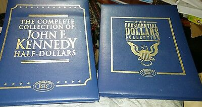 Willabee & Ward The Complete Collect. of Kennedy Half and presidential dollars