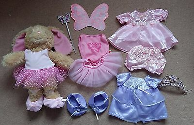 Chad Valley Design a Bear Rabbit with Outfits, Butterfly, Ballerina & Princess
