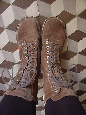 Chaussures Kickers montantes vintage