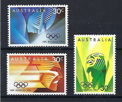 Australia 1984 Olympics Los Angeles SG 941 / 3 MNH  POST FREE TO THE UK.