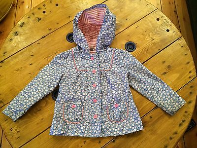 Gorgeous Blue Floral Raincoat for 2-3 years Girl