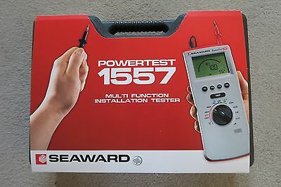 Seaward Powertest 1557 Multi Function Installation Tester BRAND NEW NEVER USED