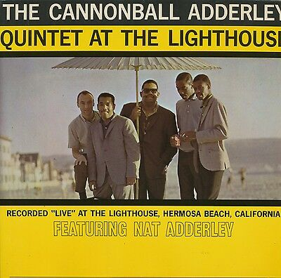 """CANNONBALL ADDERLEY QUINTET """"At The Lighthouse"""" (Riverside) rare UK groove label"""