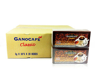 20 Boxes Gano Excel Gano Cafe Classic with Ganoderma Lucidum Free Shipping