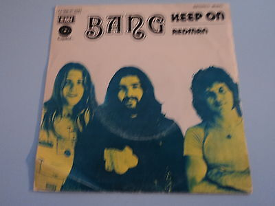 "BANG - ""Keep On / Redman"" (1972) Mega Rare SPANISH 7"""