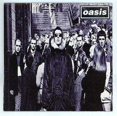 """OASIS : D'You Know What I Mean / Stay Young -  7"""" UK 1997 gatefold sleeve"""