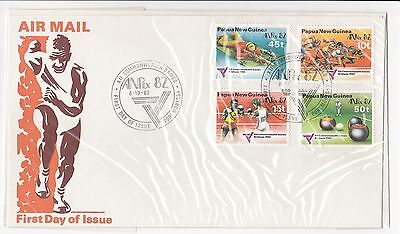 1974 Commonwealth Games  Fiji FDC first day cover FDI envelope