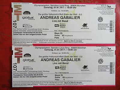 2 tickets andreas gabalier m nchen super sitzpl tze block z3 eur 280 00 picclick de. Black Bedroom Furniture Sets. Home Design Ideas