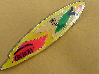Pin's Sport Planche A Voile Surf Oxbow