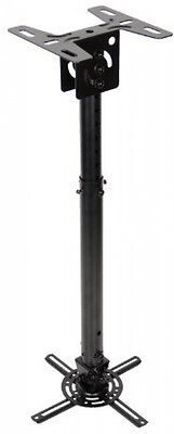 Optoma Universal Ceiling Pole Mount For Projector - Black