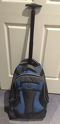 Backpack with Handle and Wheels