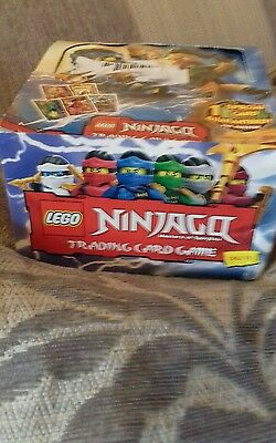 Lego Ninjargo Trading Cards Box Of 50 Packs All New Sealed