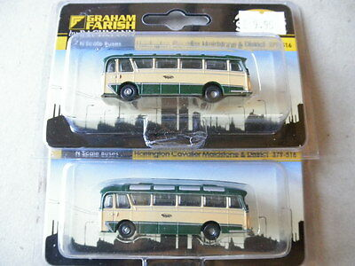 379-516# Graham Farish N Scale:x2 Harrington Cavalier Maidstone 'private Coach'