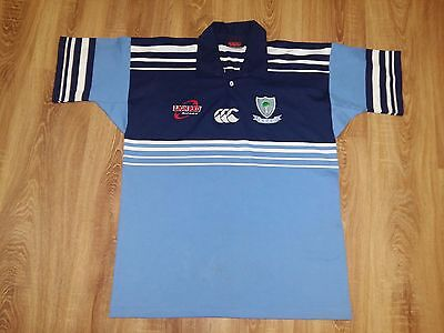 Northland Rugby Union NRFU rare vintage canterbury rugby shirt size L