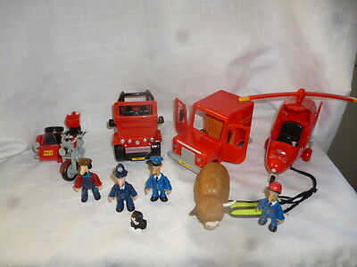 Postman Pat Vehicle Bundle - vehicles & figures