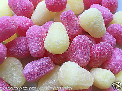 PEAR DROPS 400g, CLASSIC BRITISH HARD BOILED RETRO SWEETS, UK IMPORT