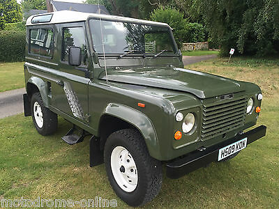 collector-quality 1990 Land Rover Defender  90 V8 CSW 6 seater+warranty