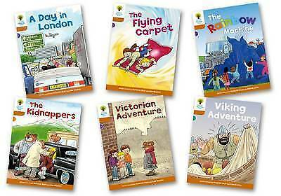 NEW OXFORD READING TREE STAGE 8 STORIES  x 6 BOOKS CHIP BIFF & KIPPER