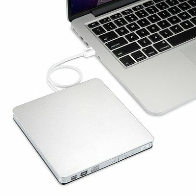 Grabadora Externa DVD-RW CD-RW de USB 3.0 para Apple Macbook, Macbook Pro,,,,,,,