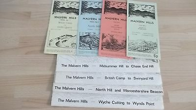 Four Malvern Hill Walk Maps And Four Trail Booklets