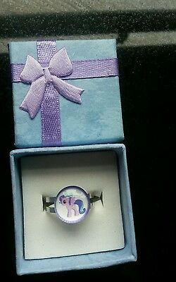 My Little Pony boxed gift ring. Great stocking filler an ideal Christmas Gift ♡