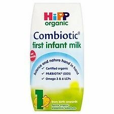 Hipp Organic Combiotic First Infant Milk 1 From Birth Onwards 50 X 200Ml