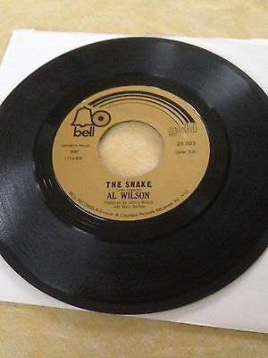 Al Wilson The Snake Northern Soul 7in Record