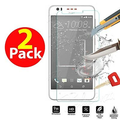 Genuine Shockproof Tempered Glass Screen Protector For HTC Desire 825