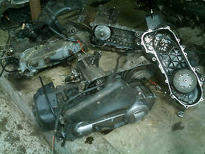 Piaggio ZIP Engine Parts  Selling as a JOB LOT (5 part Engines)