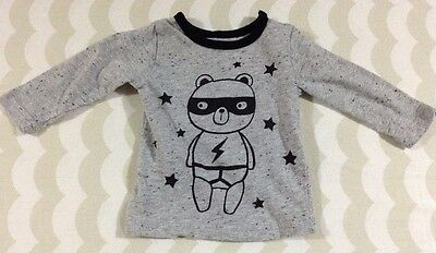 Cotton On Baby Boys Long Sleeve Top Size 3-6 Months 00