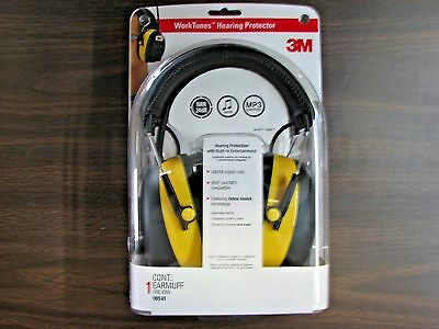 3M Worktunes Hearing Protector Mp3 Compatiable Am/fm Digital  Radio New (90541).