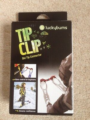 Luckybums Tip Clip Child Ski Tip Connector BNIB